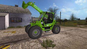 Merlo Turbofarmer P417 v 2.0 для Farming Simulator 2017