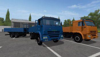 КамАЗ-45253 (4×2) для Farming Simulator 2017