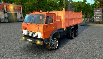 Камаз-4310 E A Самосвал для Spin Tires