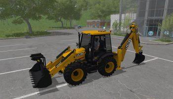 JCB 4CX V1.0 для Farming Simulator 2017