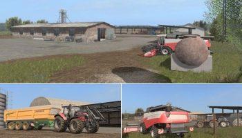 Летние поля для Farming Simulator 2017