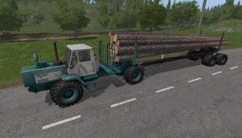 Т-150К лесовоз для Farming Simulator 2017