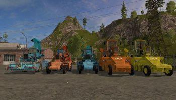 Пак корнеуборочных комбайнов для Farming Simulator 2017