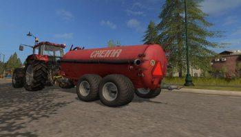Creina Slurry — Разбрасыватель навоза для Farming Simulator 2017