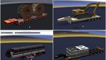 Big Heavy Cargo Pack v1.0 для Euro Truck Simulator 2