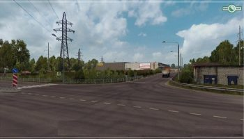 Сибирь v0.1.1 для Euro Truck Simulator 2