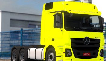MERCEDES-BENZ ACTORS 2017 для Euro Truck Simulator 2