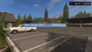 Дата и время для Farming Simulator 2017