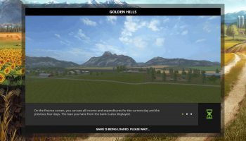Золотые холмы v1.1.0.0 для Farming Simulator 2017
