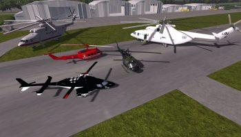 Вертолеты для Farming Simulator 2017