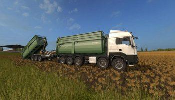 Krampe Big Body 700 Container v 1.0 для Farming Simulator 2017