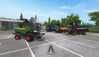 FENDT 9490 X SERIES V2 для Farming Simulator 2017