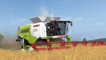 Claas Lexion 700 Stage IV MW Edition для Farming Simulator 2017