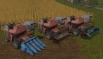 НИВА СК-5 для Farming Simulator 2017