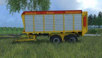 Veenhuis Super Silage для Farming Simulator 2017
