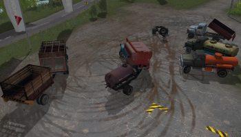 Мод Пак Газ-52/53 для Farming Simulator 2017