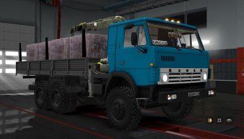 КамАЗ 5410-5511-4310-53212 v1.28 для Euro Truck Simulator 2