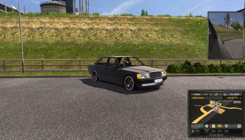 Mercedes-Benz W201 [190E] 1.28.X для Euro Truck Simulator 2