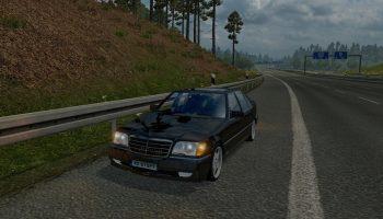 Mercedes S600 W140 для Euro Truck Simulator 2