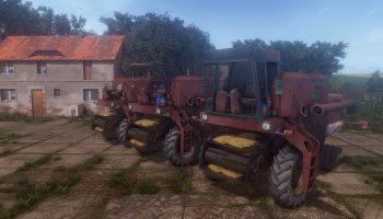 Бизон Zlomek Z056 для Farming Simulator 2017