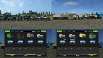 Зил пак v1.0 для Farming Simulator 2017