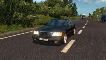 Mercedes-Benz S600 для Euro Truck Simulator 2