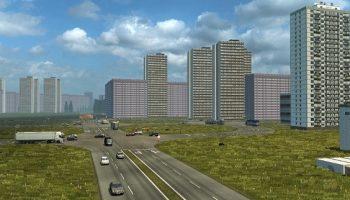 От Москвы через Минск до Крыма для Euro Truck Simulator 2
