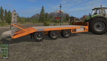 Chieftain Low Loader для Farming Simulator 2017