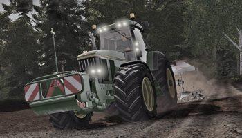 John Deere 7800/7810 для Farming Simulator 2017
