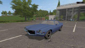 Chevrolet Camaro Z28 1973 для Farming Simulator 2017