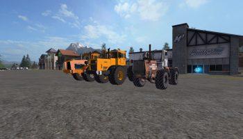 Пак российских тракторов для Farming Simulator 2017