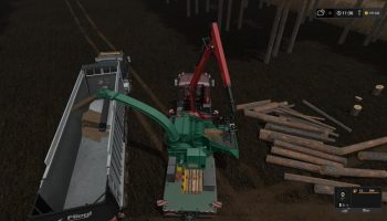 JENZ HEM 583 для Farming Simulator 2017