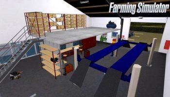 Мастерская v1.3 для Farming Simulator 2017