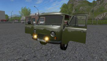 УАЗ 452 Буханка v1.1 для Farming Simulator 2017