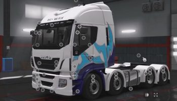IVECO STRALIS & HI-WAY ВЕРСИЯ 1.4 для Euro Truck Simulator 2