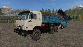КамАЗ-54115 + Модули для Farming Simulator 2017