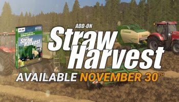 DLS ADD-ON STRAW HARVEST для Farming Simulator 2017