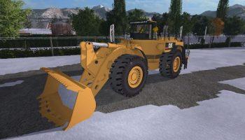 CAT 994F для Farming Simulator 2017