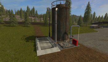 feed silo v1.0 для Farming Simulator 2017