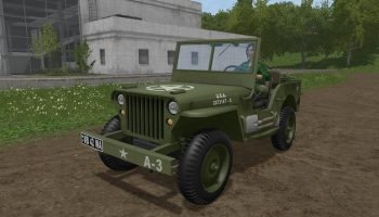 Jeep Willys v 1.1 для Farming Simulator 2017