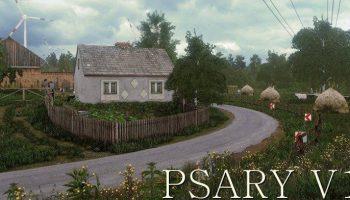 Карта Psary для Farming Simulator 2017