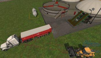 SA Производство Биогаза для Farming Simulator 2017