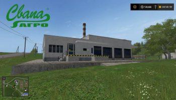 Сахарный завод от Свапа Агро для Farming Simulator 2017
