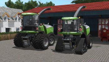 KRONE BIG X 480-630 V1.0.0.0 для Farming Simulator 2017