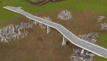 Bridge parts v 3.0 для Farming Simulator 2017