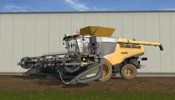 Claas Lexion 780 North America для Farming Simulator 2017