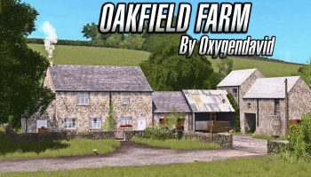 Мод карта OAKFIELD FARM для Farming Simulator 2017