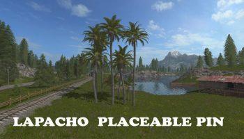 LAPACHO PLACEABLE PIN V1.0 для Farming Simulator 2017