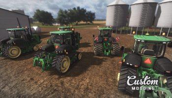 JOHN DEERE 9RT 2014 V2.0 для Farming Simulator 2017