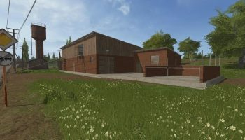HALA COWSHED для Farming Simulator 2017